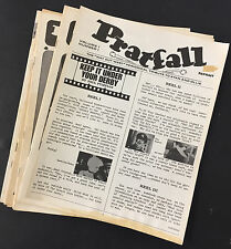 "Laurel & Hardy - ""Pratfall"" magazine, Lot of 9 issues, including first three!"