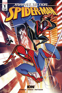MARVEL-ACTION-SPIDER-MAN-1-OSSIO-COVER-MARVEL-IDW-COMICS-MILES-SPIDER-GWEN