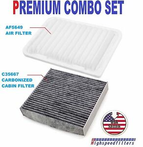 AIR FILTER AF5649 FOR 2013 2014 TOYOTA CAMRY 2.4L 2.5L VENZA 2.7L PACKAGE OF 6
