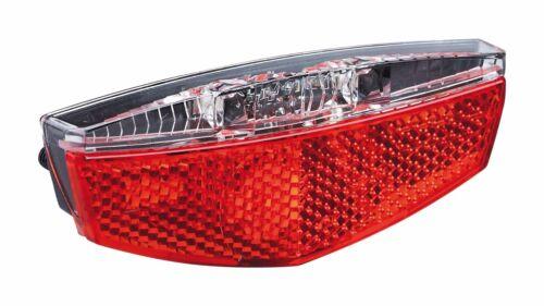 """50 oder 80 mm Schraubabs LED E-Bike Gepäckträgerrücklicht /""""TL-328 E+/"""" 6-48 Volt"""