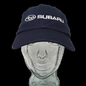 Subaru-Automobiles-Baseball-Cap-Cotton-Embroidered-Blue-OSFM-Strap-Back-Hat