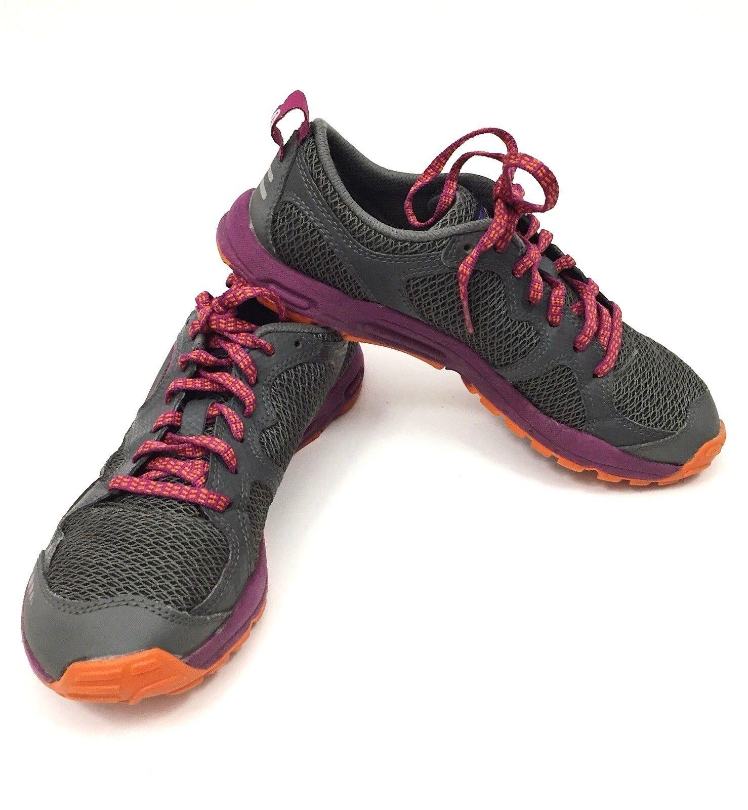 Patagonia EVERmore Womens Trail Running shoes Amaranth Tumeric Sz. 7 US