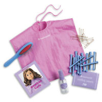 American Girl Myag Hair Care Kit For Dolls Beauty Brush Roller Style Salon