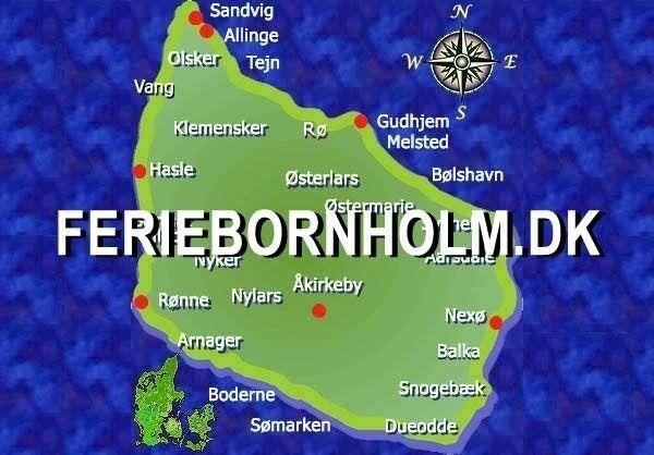 ferielejlighed, Gudhjem Nordbornholm