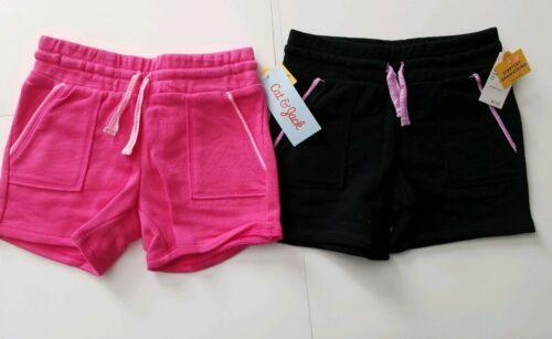 Infant Toddler Girls/' 2pk Trouser Shorts by Cat /& Jack Pink /& Black 18M or 5T
