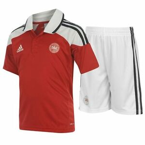 f1afe56fb Image is loading Authentic-adidas-Kids-Denmark-Home-Kit-2011-2012-