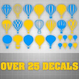 Image Is Loading Balloon Wall Decals Hot Air Balloon Stickers Kids