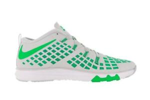huge selection of c9f64 76ac3 Image is loading Mens-NIKE-TRAIN-QUICK-Rage-Green-Synthetic-Trainers-