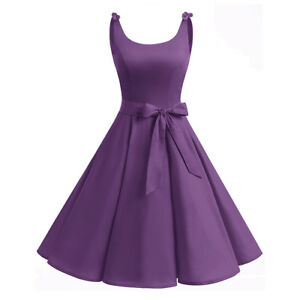 13de42afab Image is loading Vintage-Audrey-Hepburn-1950s-Style-Dress-Sleeveless-Pin-