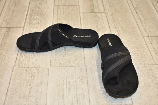 a959339033ccc4   Merrell Terran Ari Wrap Sandals - Women s Size 8 - Black DAMAGED
