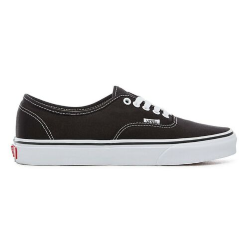 Vans Authentic White Black Trainers Unisex ppaTrwq