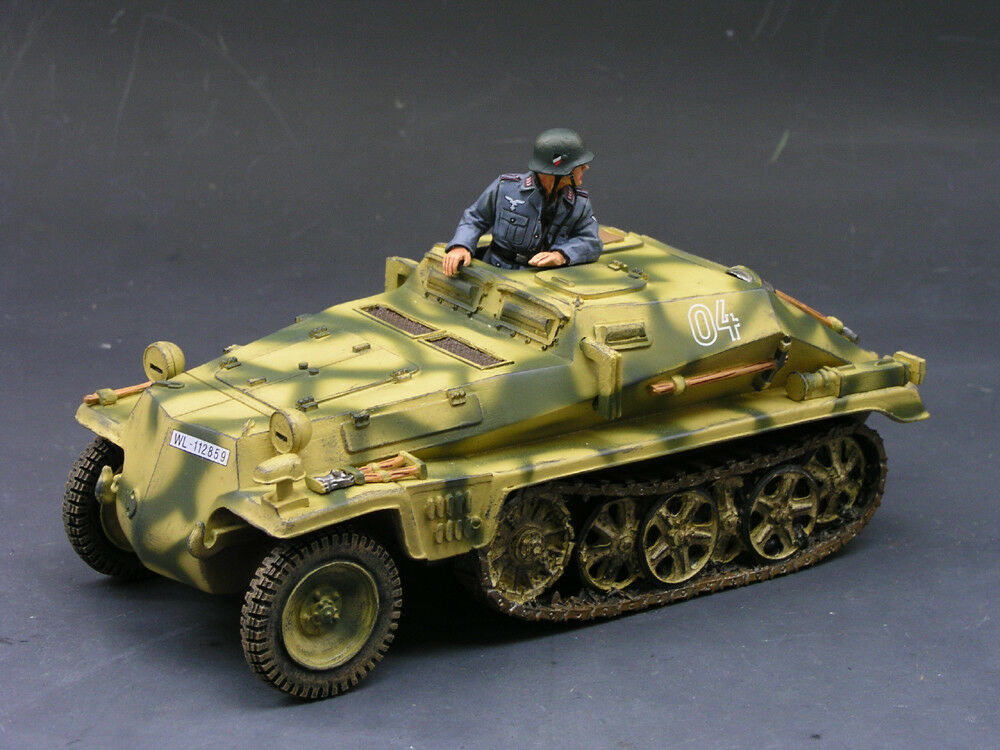 New King & Country Waffen SS WS101 Sd kfz 252 Transporter