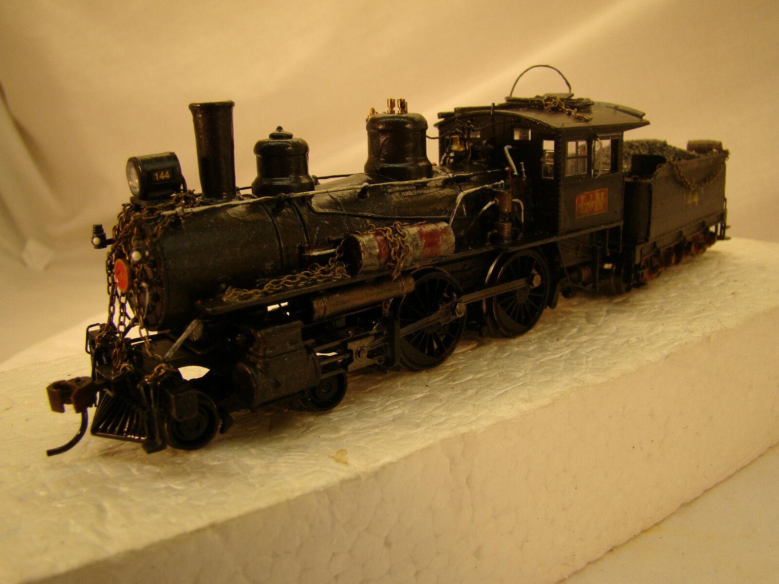 Bachmann 4-4-0 Logging Steam Locomotive- DCC and sound onboard -custom weatherosso