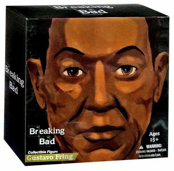Breaking Bad Gus Fring Burned variante Entertainment terre Mezco 2015 Toys