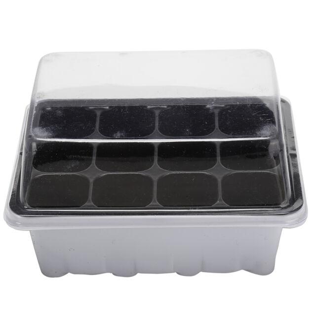 12Hole Plant Seeds Grow Box Insert Propagation Nursery Seedling Starter Tray FR