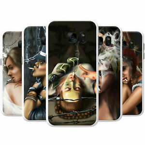 Attractive-Beautiful-Women-Smoking-Hard-Case-Phone-Cover-for-Nokia-Phones