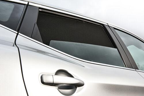 Renault Kangoo TWIN REAR DOOR 02-08 UV CAR SHADES WINDOW SUN BLIND PRIVACY GLASS