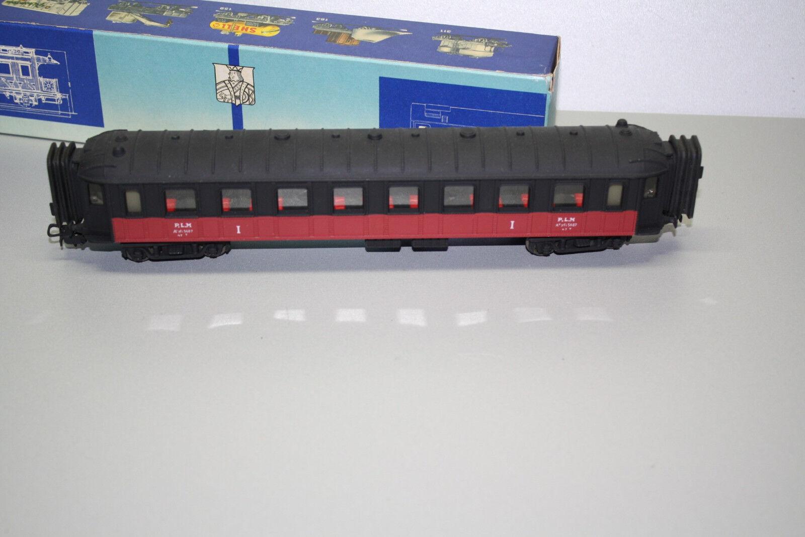 Pocher 225 3 4-Achser Personenwagen 1.Klasse Plm Spur H0 OVP