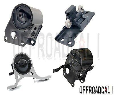 Engine Motor /& Trans Mount 4PCS Set for 2005-2006 Nissan Altima SE 3.5L FWD
