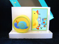Kidsline Tiddliwinks Night Light & Switch Plate Cover Nursery In The Pond