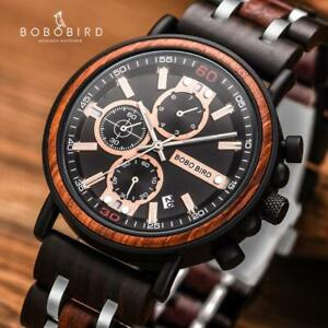Relogio-Masculino-BOBO-BIRD-Wooden-Watch-Men-Top-Brand-Luxury-Stylish-Chronograp