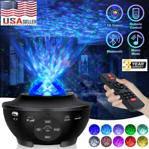 USB-Bluetooth-LED-Starry-Light-Sky-Galaxy-Projector-Ocean-Wave-Star-Night-Lamp