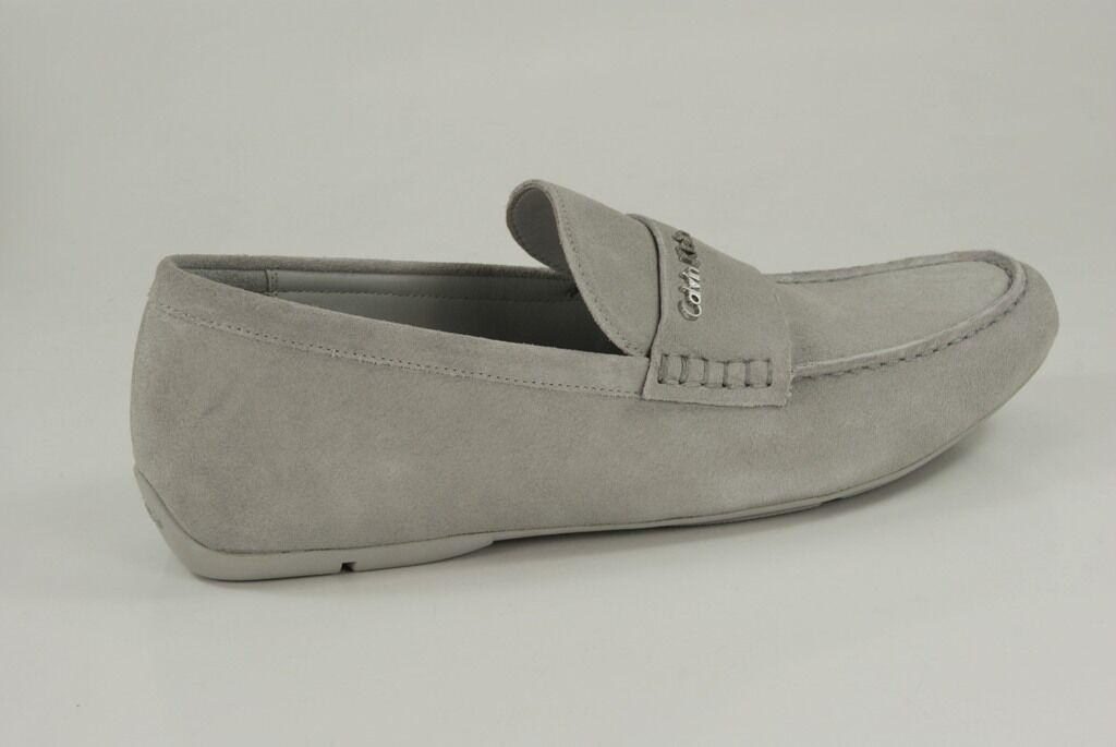 Calvin Klein Mokassins Saint Suede Slipper Loafer Herren Schuhe O10761
