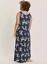 Ladies-Brand-New-Ex-Evans-Navy-Floral-Print-Summer-Maxi-Dress-Plus-Size-14-16-18 miniatuur 4