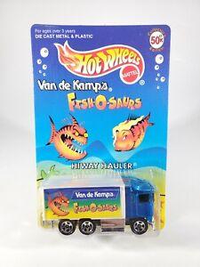 HOT-WHEELS-COLLECTOR-EDITION-VAN-DE-KAMPS-FISH-O-SAURS-HIWAY-HAULER-1997-NEW-NOC