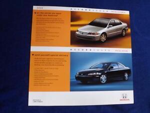 HONDA-CARS-DEALER-SALES-BROCHURE-FLYER-SPECIAL-EDITION-ACCORD-SEDAN-COUPE-2002
