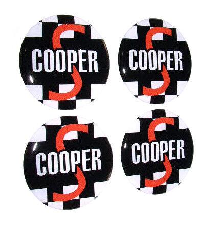 Classic Mini Cooper S Rueda INSIGNIAS hecho a la medida