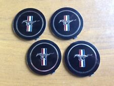 New and unused ~ Ford Mustang Wheel Badge Inserts X 4 ~ Four never fitted