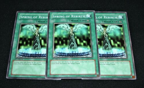 Yugioh Spring of Rebirth LOD-076 Common NM/MINT 3X 1st Edition