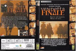 VENDETTA-FINALE-2000-dvd-ex-noleggio
