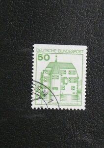 TIMBRES-D-039-ALLEMAGNE-RFA-1979-YVERT-TELLIER-N-877b-878b-Oblitere-TBE
