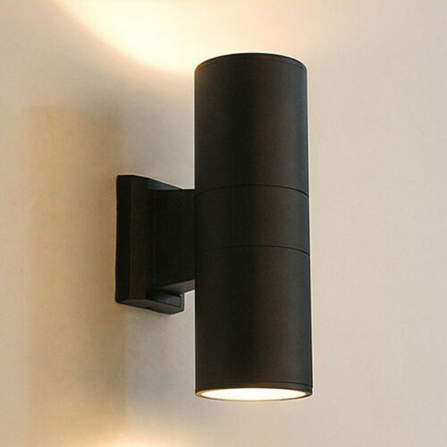 Up//Down 12W 3.5 inch LED Outdoor Lamp Building Exterior Wall Mount Light Fixture