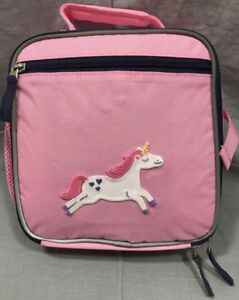 9385c65449edf3 Pottery Barn Kids Fairfax Pink/Navy Lunch Bag for sale online | eBay