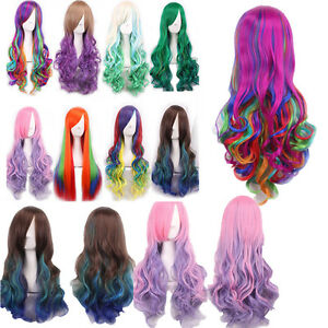 School-Party-Rainbow-Cosplay-Wigs-Long-Natural-Straight-Curly-Wavy-Hair-Wig-TOP