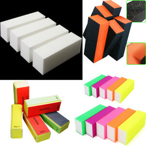 1-10X-Bloc-Buffer-Polissoir-Poncage-Sanding-Lime-a-Gel-Ongles-Manucure-Nail-Art