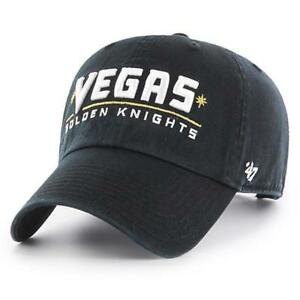 fa189a34a6c75 Las Vegas Golden Knights 47 Brand CLEAN UP Adjustable Dad s NHL Cap ...