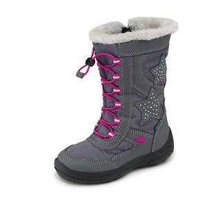 quality design 38472 f70a5 Details zu Lico Kinder Mädchen Winterstiefel Stiefel Boots Winterschuhe  Schnür Schuhe grau