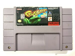 Frogger-Fun-SNES-Super-Nintendo-Game-Tested-amp-Working