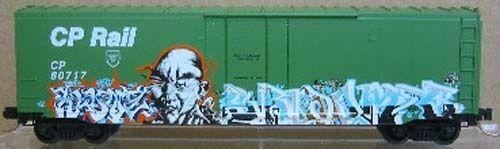 Graffiti Collector Series car  8,  Warrior  Special Run Nr 422 of 500
