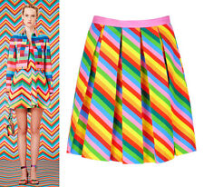 589ae7f684 item 1 Rainbow Neon Colourful Stripe Pleated Mini Short Skirt Runway Celeb  Amal Clooney -Rainbow Neon Colourful Stripe Pleated Mini Short Skirt Runway  Celeb ...
