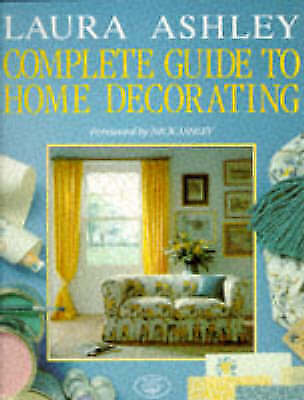 """""""AS NEW"""" Ashley, Laura, Laura Ashley Guide Home Decorating, Book"""