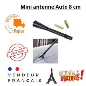Mini antenne voiture auto radio FM universel 8cm couleur noir facile à installer