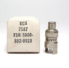 Nuvistor-Röhre RCA 7587, NOS Tube for Audio Preamplifier / RIAA Phono, MIL NOS
