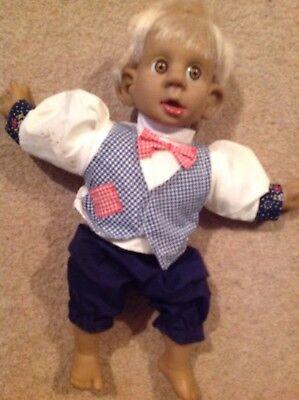 Bello Bionda Boy Doll Molto Reale Dall'aspetto Usato-mostra Il Titolo Originale