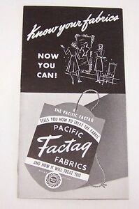 1940-039-S-ORG-PACIFIC-FACTAG-FABRICS-BROCHURE-PACIFIC-MILLS-NEW-YORK