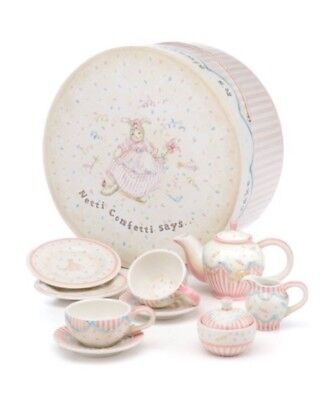 Netti Confetti's Celebration Tea Set Bunnies By The Bay Vintage New Other